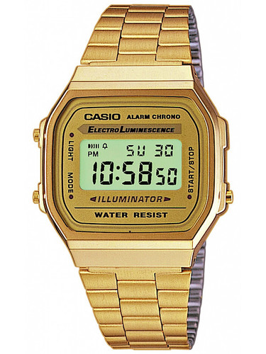 CASIO A168WG-9EF Collection