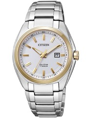 Citizen EW2214-52A Eco-Drive Super-Titanium