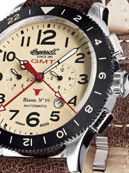 Ingersoll IN3224CR Bison No. 69 GMT Automatik