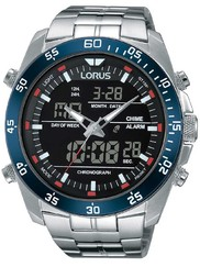 Lorus RW623AX9 Analog-Digital Alarm Chronograph