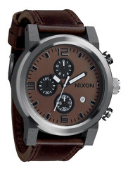 NIXON Ride A315-562 Brown Chronograph