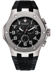V.O.S.T. Germany V100.024.CT.TT.R.B Titanium Chrono